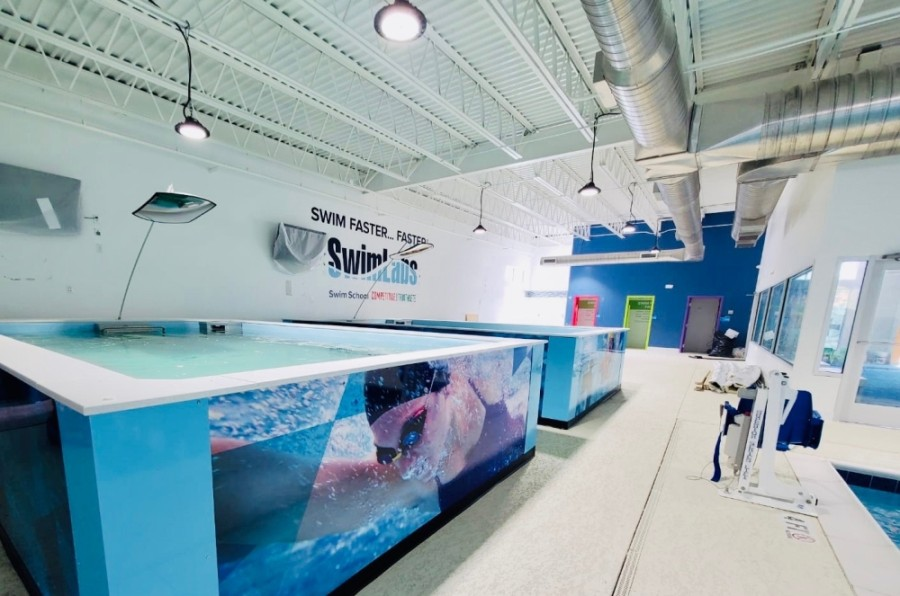 SafeSplash Swim School and SwimLabs opened their partnered Humble facility Nov. 11. (Courtesy SwimLabs)