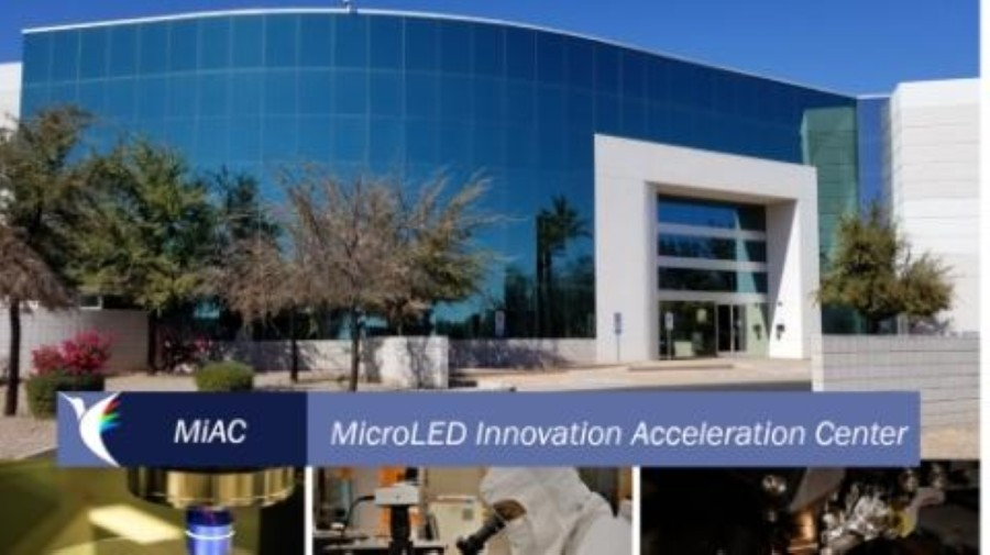 Compound Photonics US Corporation announced Nov. 16 the opening of its MicroLED Innovation Acceleration Center in Chadler, according to a news release from the company. (Courtesy Compound Photonics)
