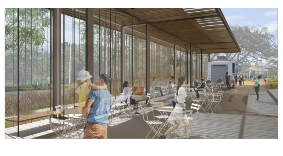 Evelyn's Park has launched the second phase of its park development project. (Rendering courtesy Evelyn's Park Conservancy)