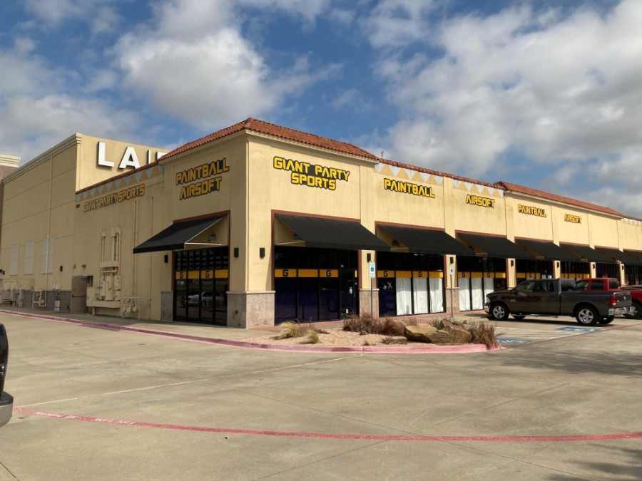 The paintball and airsoft store opened Nov. 6 in Plano. (Courtesy Giant Party Sports)