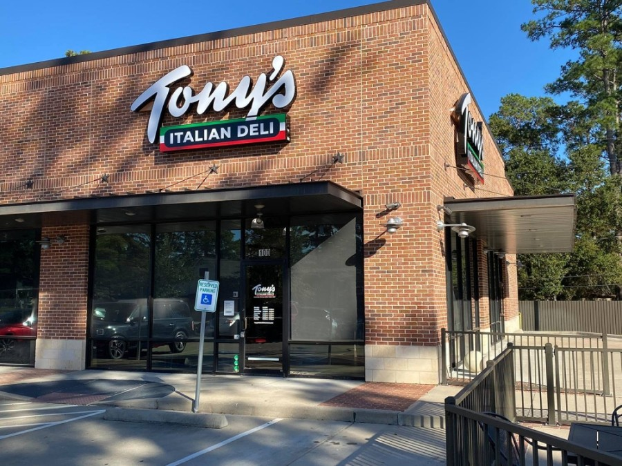 The new location will feature an in-store dining room, an outdoor patio and a drive-thru for pickup only. (Courtesy Tony's Italian Delicatessen)
