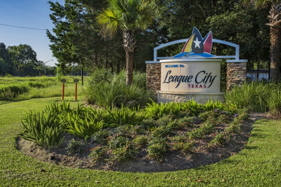 In fiscal year 2019-20, which ended Sept. 30, the city met its goal of spending $50 million on capital improvement projects in a single year. (Courtesy city of League City)