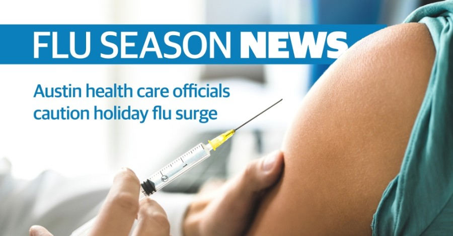 Flu story headline