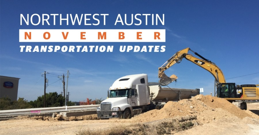Construction on West Parmer Lane