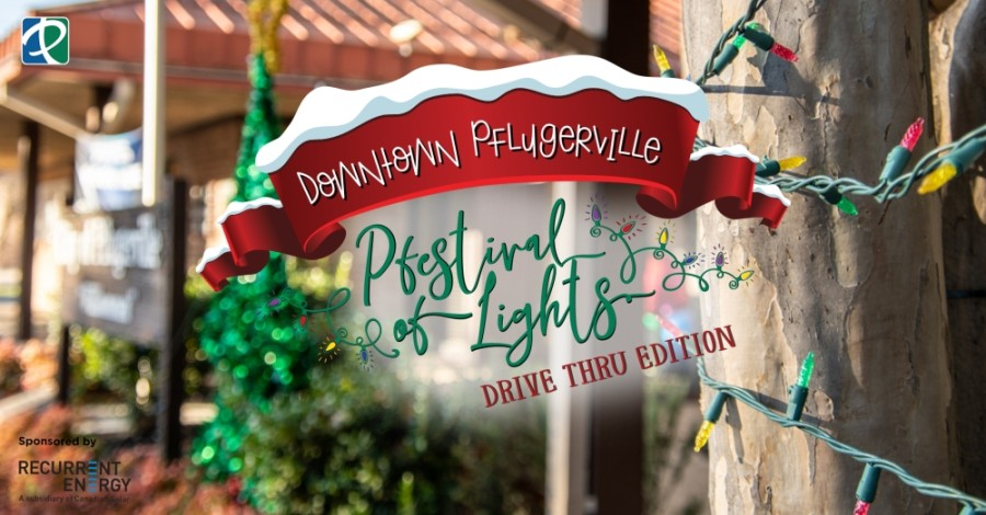 The annual event includes decorations, holiday lights, a Christmas tree viewing, singing carolers and goodie bags for attendees. (Courtesy city of Pflugerville)