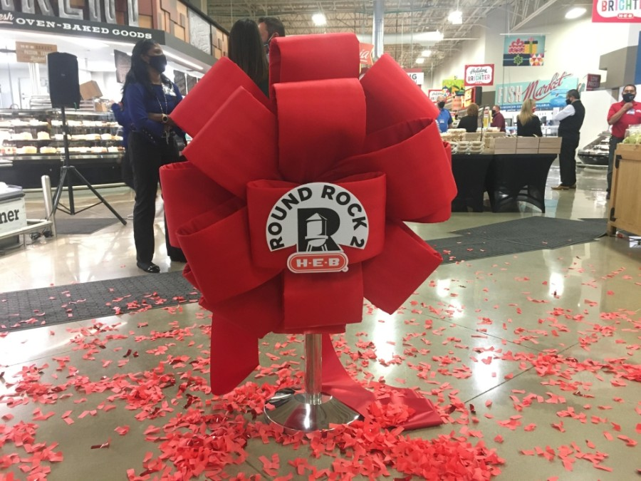 Some major changes were unveiled at the H-E-B Round Rock location Nov. 19. (Claire Ricke/Community Impact Newspaper)