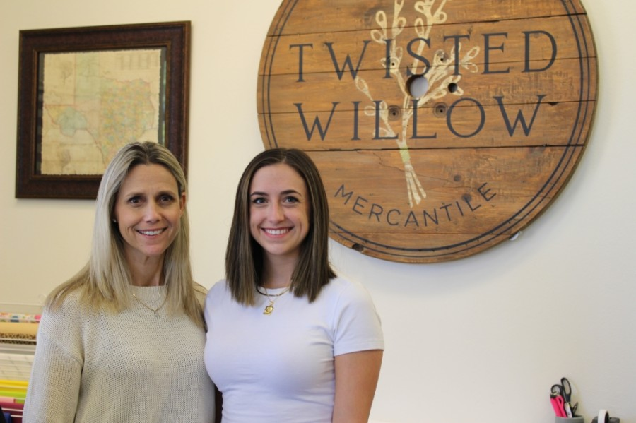 Twisted Willow Mercantile is owned by mother and daughter Debbie and Caeli Condit. (Adriana Rezal/Community Impact Newspaper)