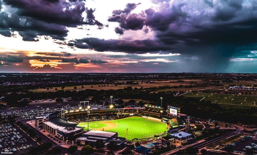 The Round Rock Express play at the Dell Diamond in Round Rock. (Courtesy city of Round Rock)
