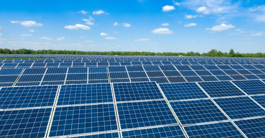 While Harris County has a large oil and gas presence, it is trying to grow its solar energy presence as well. (Courtesy Adobe stock)