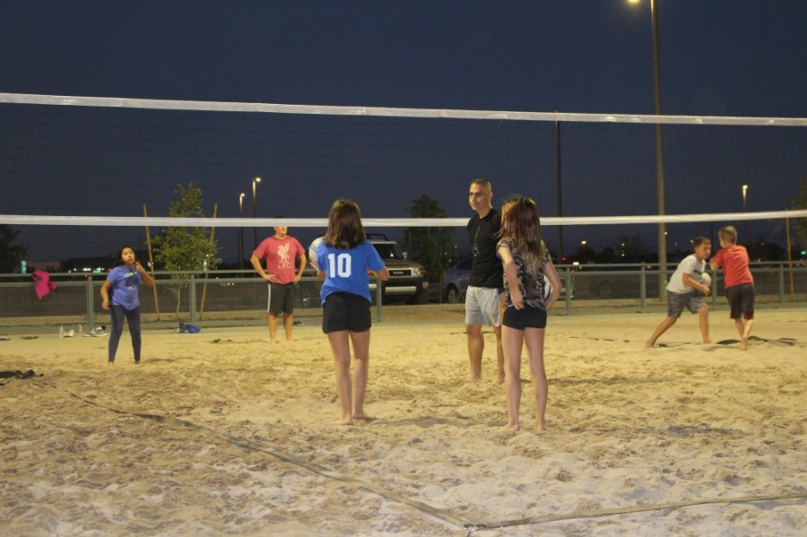 Gilbert Regional Park sand volleyball courts