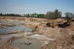 sand mining San Jacinto River APO Kingwood