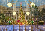 Guests can watch the Atrium Holiday Light Show for free at the Gaylord Texan Resort from Nov. 13, 2020, through Jan. 3, 2021. (Courtesy Gaylord Texan Resort)