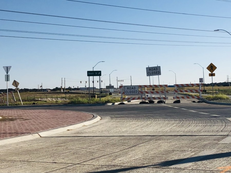 The city of Fort Worth allocated an additional $3.1 million in October for improvements to Westport Parkway from Keller-Haslet Road to Alta Vista Road and North Beach Street. (Ian Pribanic/Community Impact Newspaper)