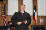 Vince Santini was appointed by Gov. Greg Abbott on July 23. The court was created to address Montgomery County's growing backlog of civil cases. (Eva Vigh/Community Impact Newspaper)