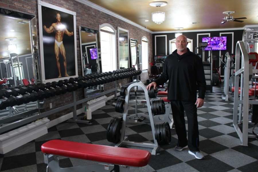 Dan Judge, a former award-winning bodybuilder, runs and owns The Gym McKinney. (Francesca D'Annunzio/Community Impact Newspaper)