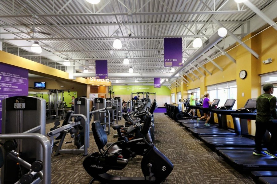 The gym will be located at 910 Pine Market Ave., Ste. 100, Montgomery. (Courtesy Anytime Fitness)