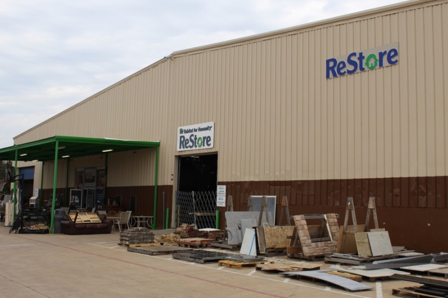 Habitat for Humanity of Collin County is headquartered near the McKinney ReStore. (Courtesy Brandon Washington, Habitat for Humanity of Collin County)