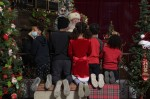 Grapevine's Main Street Santa event was moved to the Grapevine Convention & Visitors Bureau building this year to allow more space for social distancing. (Courtesy Main Street Santa)