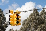 New traffic signals were added to two The Woodlands intersections in late 2020. (Courtesy Fotolia)