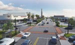 A project coming to Shepherd Drive will bring an updated roadway and drainage, along with features seen on other projects by the Upper Kirby Redevelopment Authority, including brick paver crosswalks, widened sidewalks, lighting and landscaping. (Rendering courtesy Upper Kirby Redevelopment Authority)