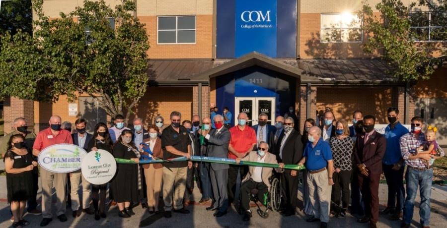 College of the Mainland unveiled its new League City location Nov. 12. (Courtesy College of the Mainland)