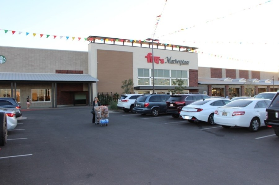Fry's Marketplace is the anchor tenant for the Post at Cooley Station development. (Tom Blodgett/Community Impact Newspaper)