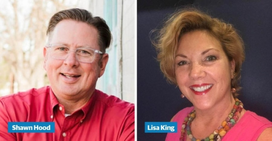Shawn Hood and Lisa King will face off in a runoff election Dec. 15 after neither received more than 50% of the vote in the November election. (Community Impact Staff)