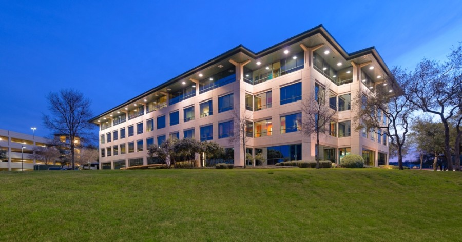 Pravo Construction opened a new headquarters at Two Barton Skyway, 1601 MoPac, Austin, on Nov. 1. (Courtesy CBRE)