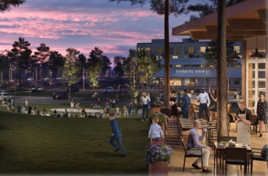 The Center Stage development was initially approved in January, with a detailed plan brought before Keller City Council on Dec. 1. (Courtesy city of Keller)