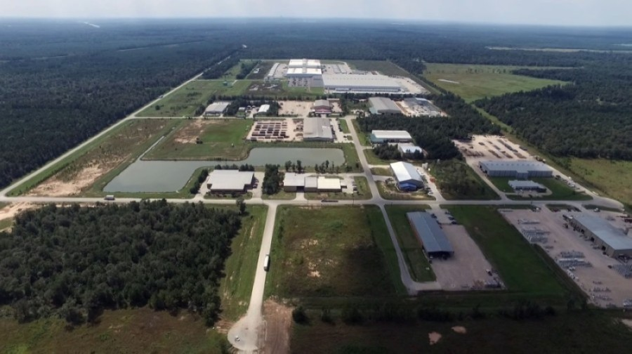 The East Montgomery County Industrial Park off Gene Campbell Road will welcome the Lowe's Distribution Center in July. (Courtesy East Montgomery County Improvement District)