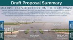 The Coastal Texas Study includes proposals for several projects meant to protect Galveston Bay with multiple lines of defense from major storms. (Courtesy Army Corps of Engineers)