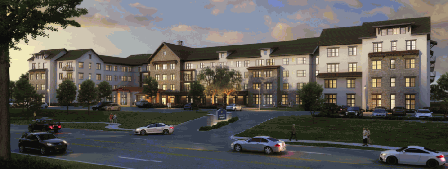Grand Living at Georgetown is coming to Georgetown in June 2021. (Courtesy Grand Living at Georgetown)