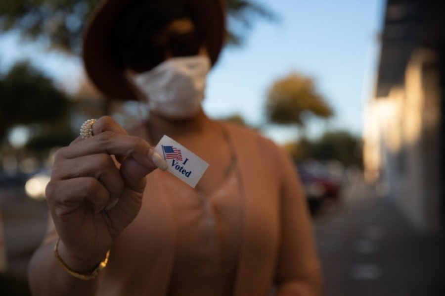 Voters can cast ballots in person until Dec. 4 for early voting or vote on election day, Dec. 8. (Liesbeth Powers/Community Impact Newspaper)