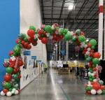 Angelica Espinoza's balloon work is used for events, parties and celebrations. (Courtesy A.L. Party Creations)