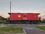 The railroad museum is located at 201 S. Elm. St., Tomball. (Anna Lotz/Community Impact Newspaper)