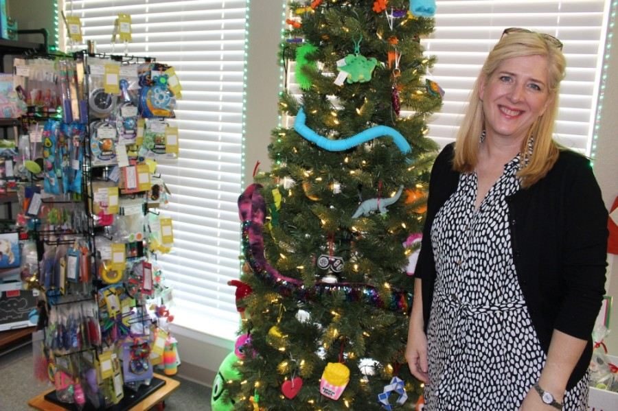 Stacy Wright is the president of Stacy's Sensory Solutions in Plano. (Olivia Lueckemeyer/Community Impact Newspaper)