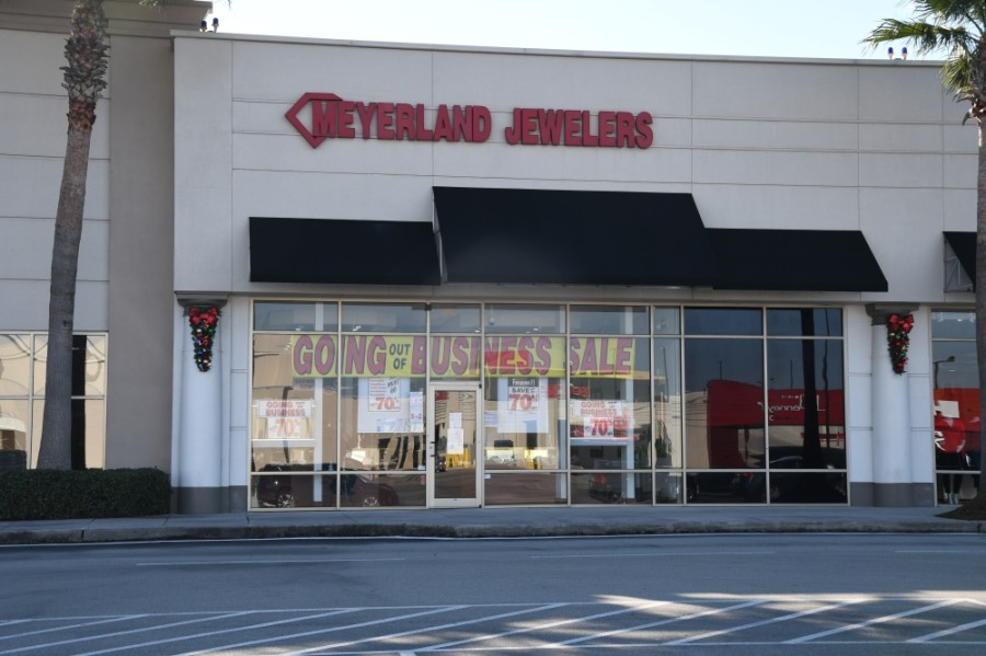 Meyerland Jewelers, located at Meyerland Plaza, has announced it will be going out of business. (Hunter Marrow/Community Impact Newspaper)
