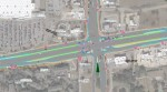 A screen shot taken from the animated model posted to the TxDOT website shows Hwy. 79. (Courtesy: TxDOT and the Texas Cowboy YouTube channel)