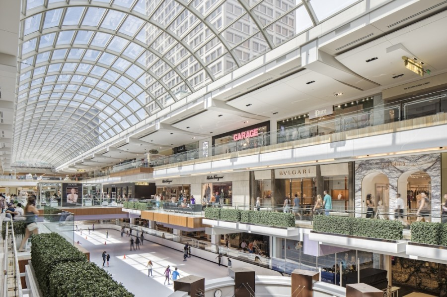 Houston's The Galleria has added several new retailers and dining options ahead of the holiday season. (Courtesy Simon)