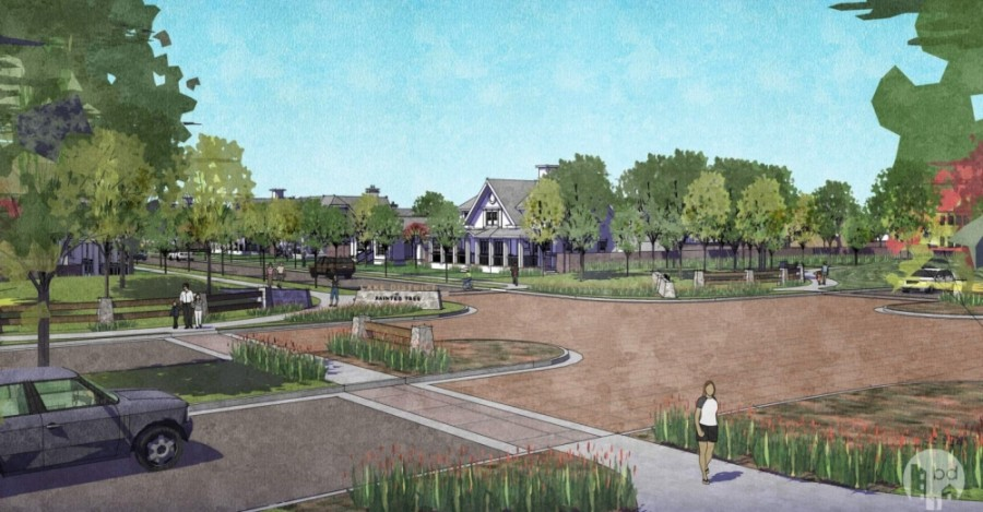 A request to rezone for a new residential community was approved by McKinney P&Z commissioners Dec. 8. (Rendering courtesy city of McKinney)