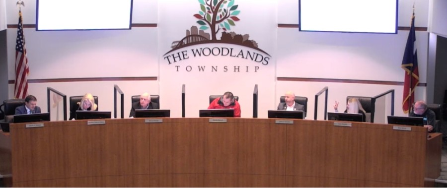 On Dec. 2, The Woodlands Township board of directors made appointments to several committees. (Screenshot courtesy The Woodlands Township)