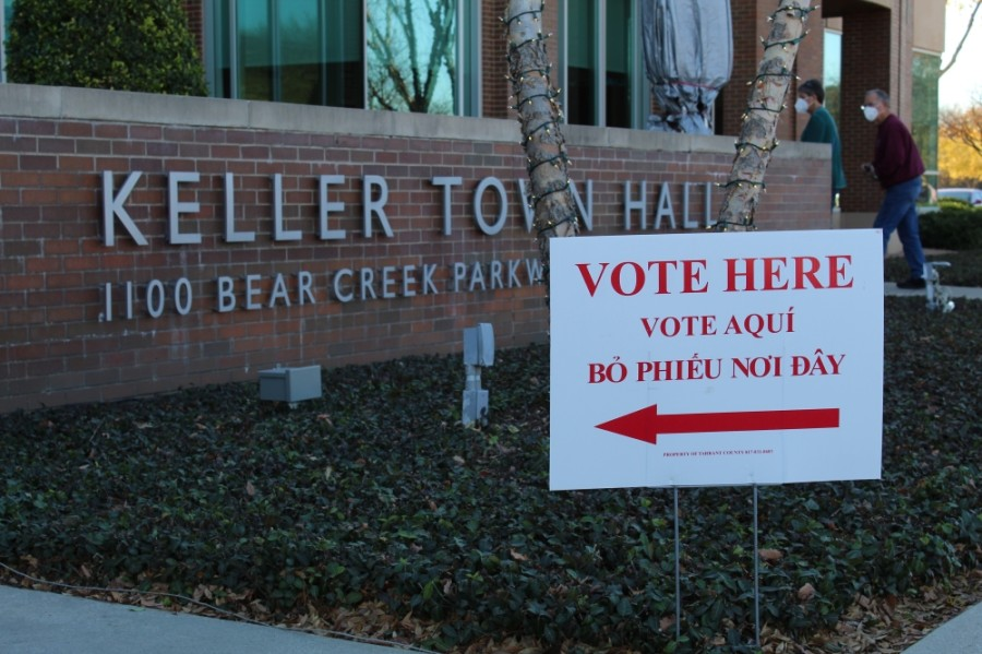 The Dec. 8 runoff took place a month after no candidate for mayor received more than 50% of the vote in the general election. (Kira Lovell/Community Impact Newspaper)