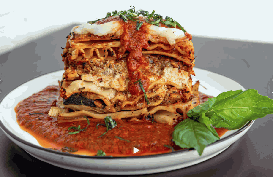 Impossibly Cheesy Lasagna is one of the staple items on the menu. (Courtesy Jai Meals)
