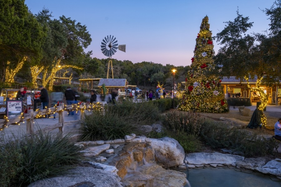 San Antonio's Natural Bridge Caverns will host a variety of holiday activities Dec. 12-13 and 19-20. (Courtesy Natural Bridge Caverns)