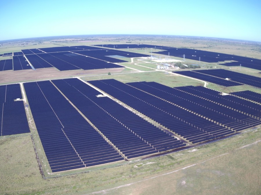 Solar power companies are coming out to Brazoria County to build solar farms, including Cypress Creek's Wagyu farm. (Courtesy Cypress Creek)
