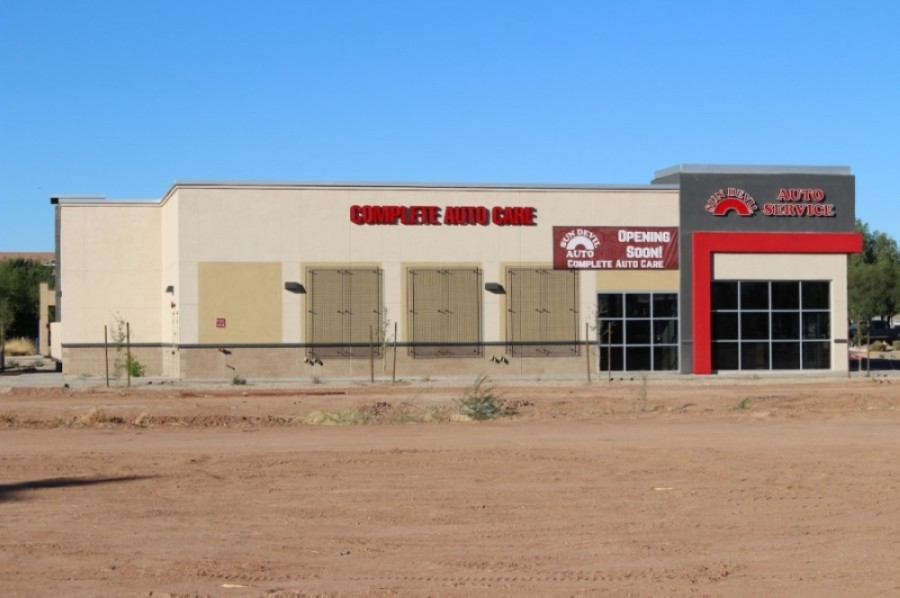 Sun Devil Auto anticipates opening a shop on Gilbert Road around Jan. 1. (Tom Blodgett/Community Impact Newspaper)