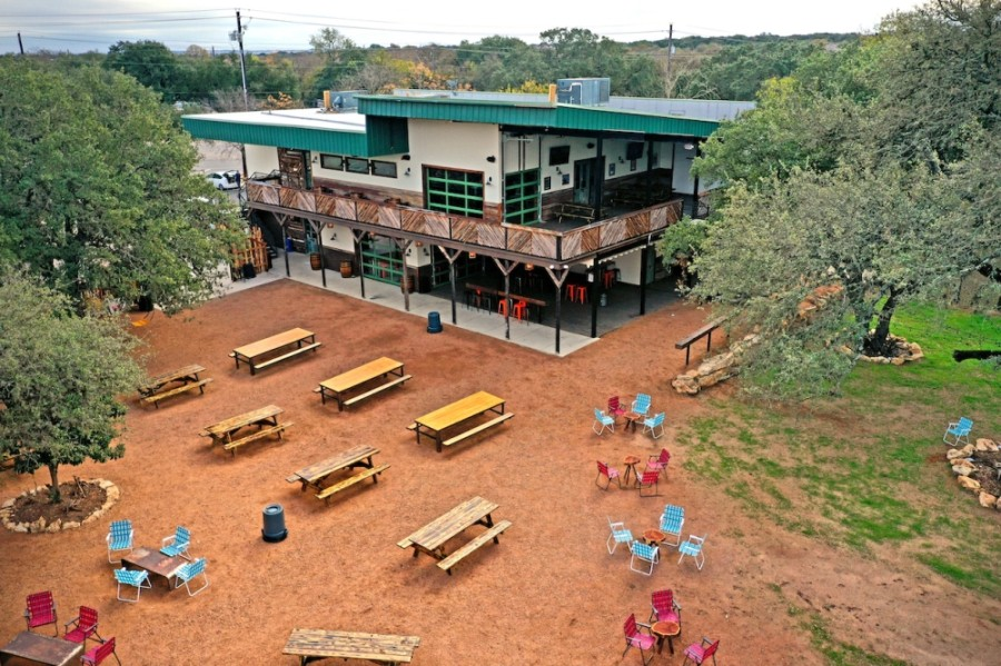 Armadillo Den is situated on a 3-acre property on Menchaca Road. (Courtesy Manchaca Entertainment Group)