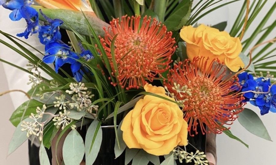 Luxe Stems brands itself as an upscale floral design gallery, not a typical flower shop. (Courtesy Luxe Stems)