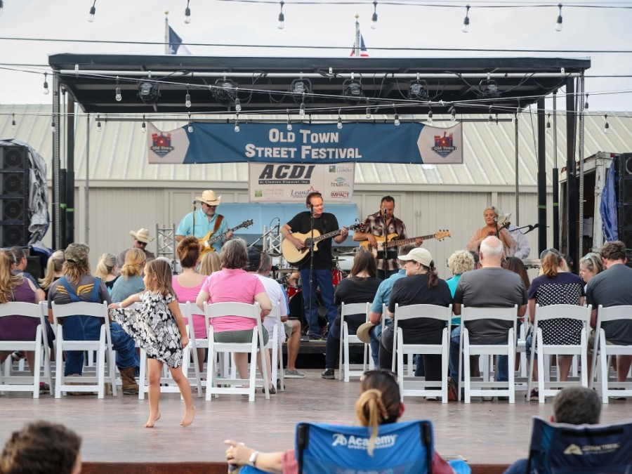 Events such as the Old Town Street Festival, which will take place on June 5 this year, help draw people to Leander. (Courtesy city of Leander)