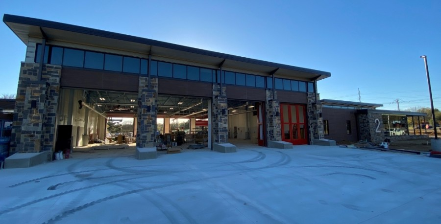 The newly constructed Station 2 is located at 3091 Dove Road in Grapevine. (Courtesy Captain and Paramedic Sheli Pugach)